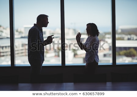 Corporate couple arguing Stock photo © photography33