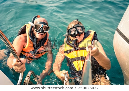 senior tourist looking at water stock photo © photography33