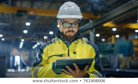 Architect wearing safety jacket Stock photo © photography33