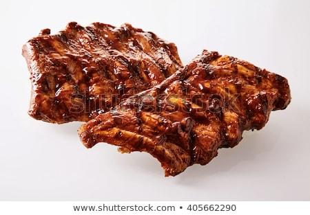 carne · verdura · piatto - foto d'archivio © tatik22