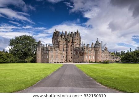 Castelo escócia viajar arquitetura europa história Foto stock © phbcz