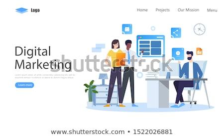 携帯 マーケティング ボタン 現代 コンピュータのキーボード 言葉 ストックフォト © tashatuvango