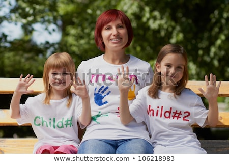 Woman posing with her kid Stock photo © photography33
