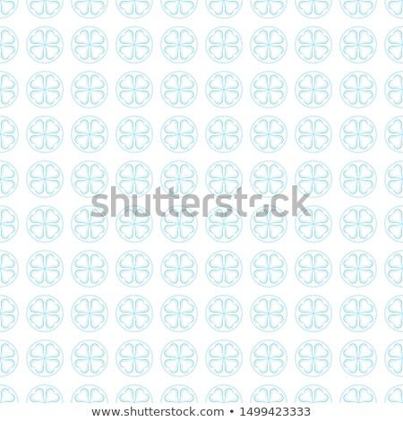 Nice pattern floor or wall tile isolated  Stock photo © JohnKasawa