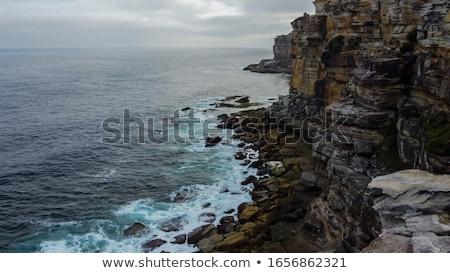 Rocky seashore Stock photo © jrstock