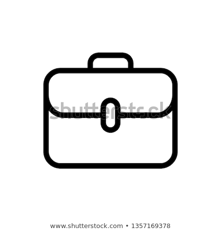Icon brief case and money Stock photo © zzve