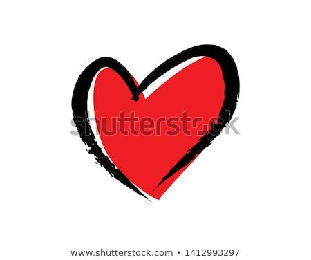 Valentine hearth Stock photo © iko