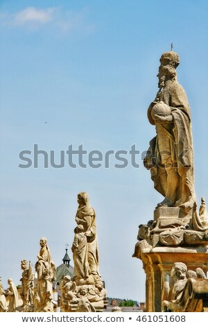 Jesuit priest, Kutna Hora. Stock photo © FER737NG