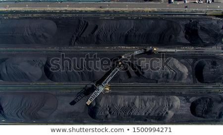 stockpile of coal stock photo © stoonn
