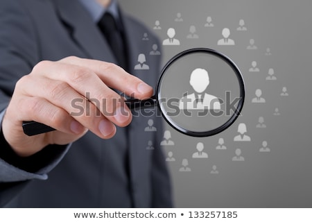Crm business klant relatie beheer woorden Stockfoto © tashatuvango