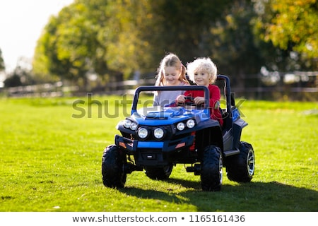 Young Boy with Electric Car stock photo © 2tun