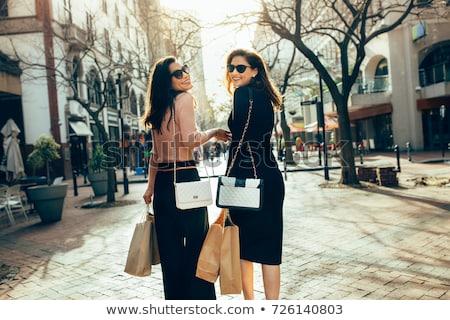Elegant shopper. Stock photo © lithian