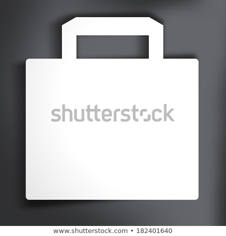Save Shopping Bag Icon with Percentage Discount, Reduced Price S Stock photo © fenton