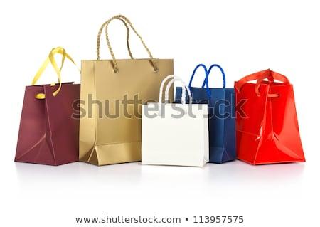 Rainbow Shopping Bags Stock photo © songbird