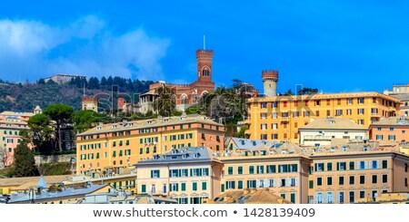 Albertis Castle in Genoa Italy Stock photo © claudiodivizia