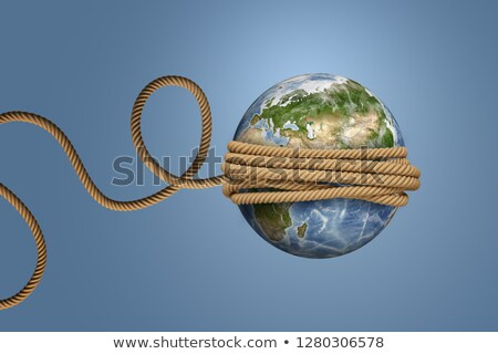 Símbolos planeta abstrato 3D esfera ilustração Foto stock © kiddaikiddee