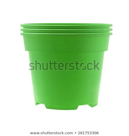 Empty plastic flower pot Stock photo © stevanovicigor