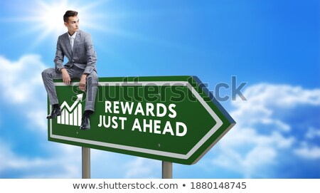 investment on green highway signpost stock photo © tashatuvango