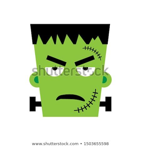 сердиться вектора изображение Cartoon смешные стороны Сток-фото © Amplion