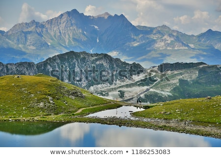 montagnes · roches · France · forêt · paysage · neige - photo stock © phbcz