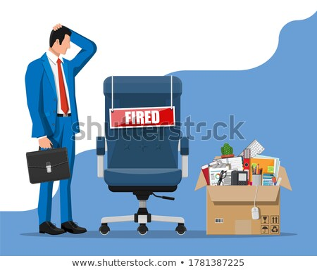 dismissed concept with word on folder stock photo © tashatuvango
