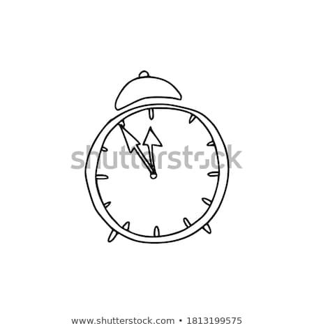 óra · jegyzőkönyv · üzlet · idő · stressz · grafikus - stock fotó © boroda