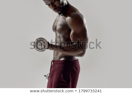 jeune · homme · poids · blanche · fitness - photo stock © nickp37