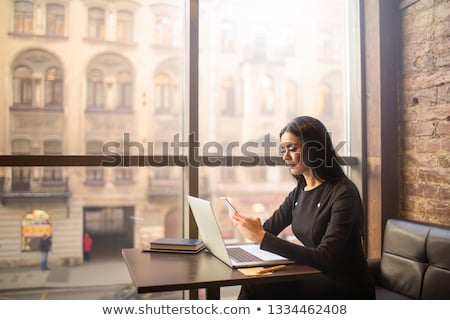 E-banking message and laptop Stock photo © fuzzbones0