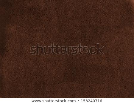 Brown textured cowhide Stock photo © michaklootwijk
