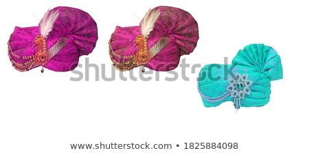 Colorido isolado casamento homem dançar tecido Foto stock © shawlinmohd