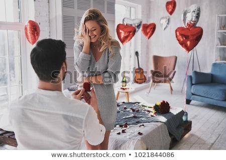 結婚式 提案 実例 女性 男 カップル ストックフォト © adrenalina