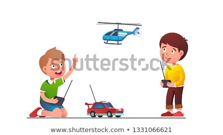 boy in toy car 2 Stock photo © Paha_L