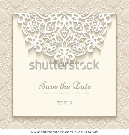 decorativo · branco · renda · flor · textura · fundo - foto stock © liliwhite