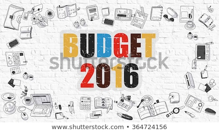 goals for 2016 concept multicolor on white brickwall stock photo © tashatuvango