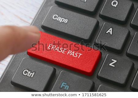 erasing history stock photo © 3mc