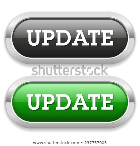 обновление икона черный кнопки знак Сток-фото © faysalfarhan