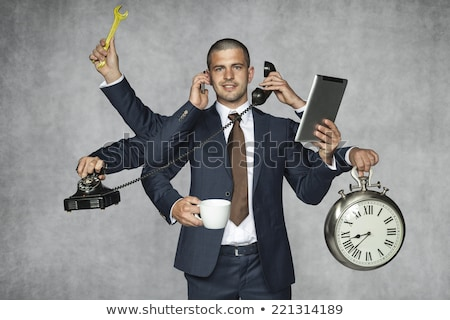 Managing Time And Multitasking Stock photo © Lightsource