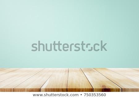 Stronie drewniany stół słowo działalności biuro zegar Zdjęcia stock © fuzzbones0