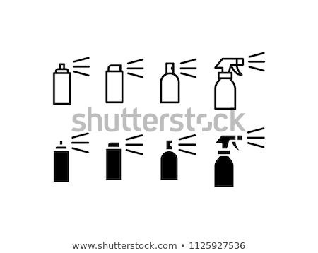 Air spray bottle Stock photo © pakete