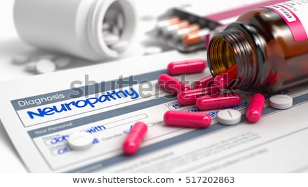 Diagnosis - Neuropathy. Medicine Concept. 3D Illustration. Stock photo © tashatuvango