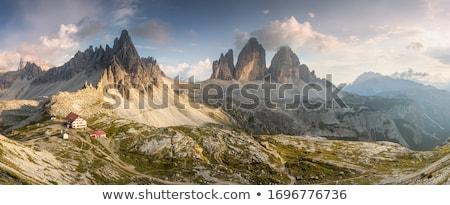 natureza · parque · alpes · belo · Itália · céu - foto stock © cookelma