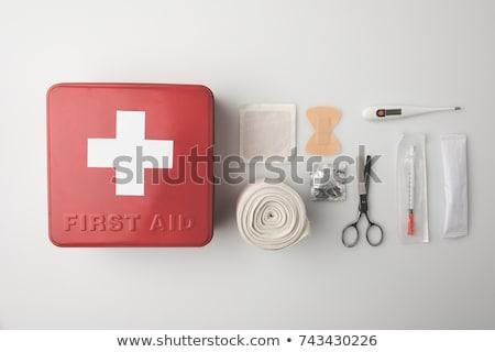 Primeros auxilios primero médicos ayuda paciente masaje Foto stock © Olena