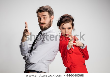 Two young dynamic business women Stock photo © IS2