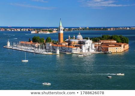 Veneza Itália água edifício barco europa Foto stock © MichaelVorobiev