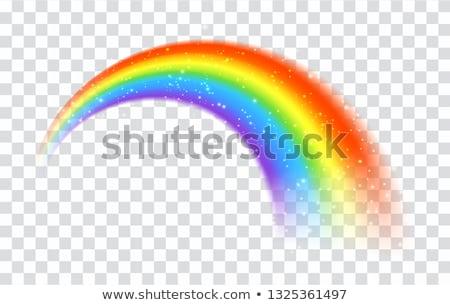spiraal · gekruld · regenboog · textuur · gelukkig · achtergrond - stockfoto © ajt
