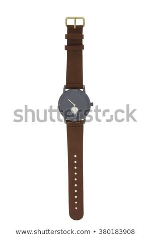 Isolato grigio nero clock design Foto d'archivio © daboost