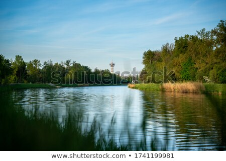 Green Tower in Pardubice Stock photo © benkrut