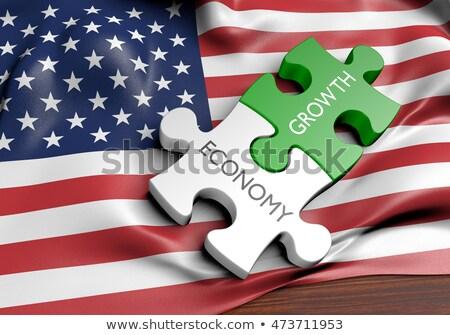 経済 · 経済の · 成功 · 金融 · グループ · 緑 - ストックフォト © lightsource
