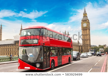 Londres · doubler · rouge · bus · Voyage · Angleterre - photo stock © rogistok