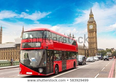 Stock photo: London Double Decker Bus